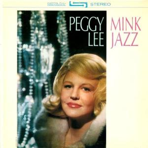 Peggy Lee Mink Jazz_LP Cover